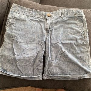 Canvas shorts from gap